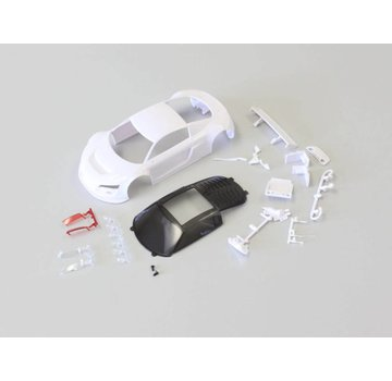 Kyosho Kyosho Mini-Z Audi R8 LMS with Night Race congigration White body set MZN161