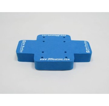 PN Racing PN Racing Mini Car Foam Stand (Blue) (700650B)