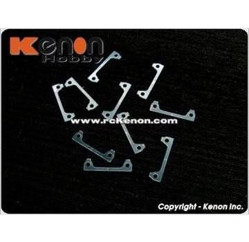 PN Racing PN Racing 0.3mm Plastic Shims (10pcs) for Interchangeable Front Body Mount