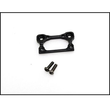 PN Racing PN Racing Mini-Z Alum Interchangeable Front Body Mount Base (Matt Black)