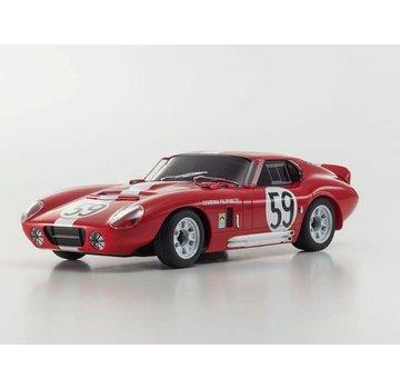 Kyosho Kyosho ASC MR-03N-RM Shelby Cobra Daytona Coupe Red MZP144R-B
