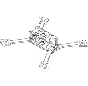 Detroit Multirotor Detroit Multirotor Doberman V2 frame