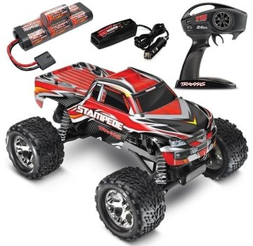 Traxxas TRAXXAS Stampede Monster Truck RTR w/ID, w/2.4Ghz, Red