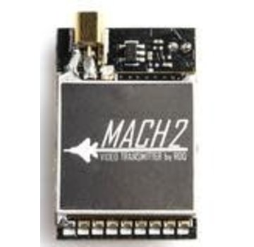 RaceDayQuads MACH 2 U.FL Connector VIDEO TRANSMITTER - AUDIO CONTROL WITH 0/25/200/500/800MW