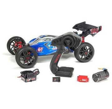 Arrma ARRMA 1/8 Typhon BLX Speed Buggy RTR Blue/Silver