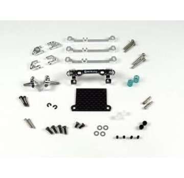 PN Racing PN Racing Mini-Z V3 MR03/PNR2.5W Double A-Arm Front Suspension (Silver) (MR3070S)