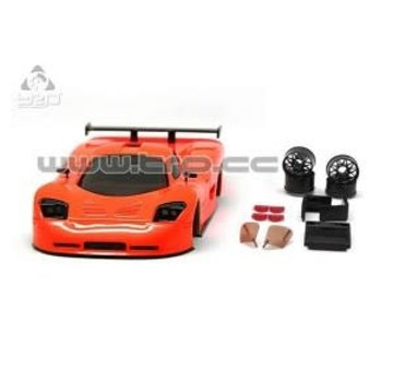Technical Racing Products (TRP) TRP Mini-Z MR02/MR03W MM Mosler MT900 Body Set (Coral hand painted)
