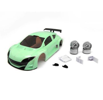 Technical Racing Products (TRP) TRP Mini-Z MR02/MR03W MM Mosler Body Set (Aqua 60 Hard hand painted)