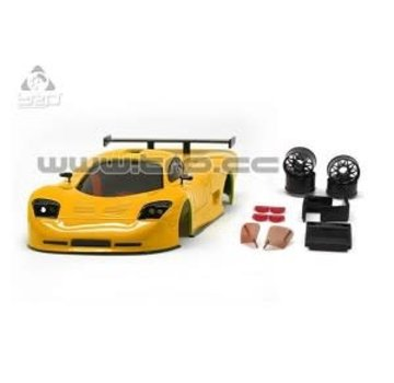 Technical Racing Products (TRP) TRP Mini-Z MR02/MR03W MM Mosler MT900 Body Set (Solid Yellow hand painted)