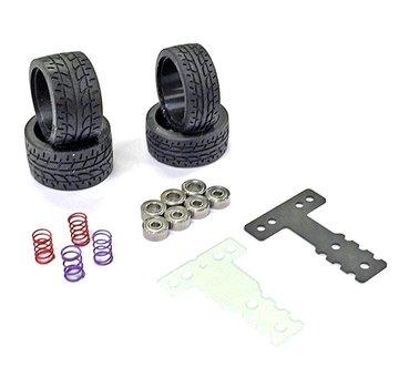 Kyosho Kyosho Mini-Z (MZW2015MM) Circuit Pack (MM/Rear Tire) MR-03
