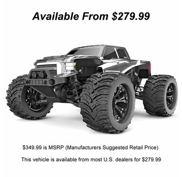 RedCat Racing REDCAT DUKONO PRO 1/10 SCALE BRUSHLESS ELECTRIC MONSTER TRUCK Gray