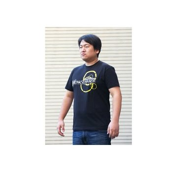 Yokomo YOKOMO TEAM T-SHIRT BLACK EXTRA LARGE (ZC-T24XL)