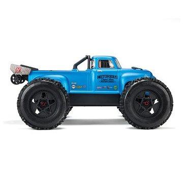 Arrma Arrma AR106036 NOTORIOUS 6S BLX Classic Stunt RTR Blue
