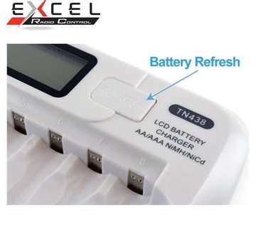 Tenergy TENERGY TN438 16-BAY SMART BATTERY CHARGER FOR AA/AAA NIMH/NICD RECHARGEABLE BATTERIES W/ BUILT-IN IC PROTECTION