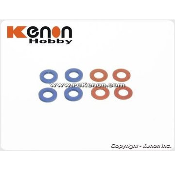 PN Racing PN Racing Mini-Z MR03 Color Shim Set for King Pin (700409)