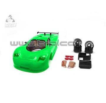 Technical Racing Products (TRP) TRP Mini-Z Mosler MT900 R Green (FOR PAINT)