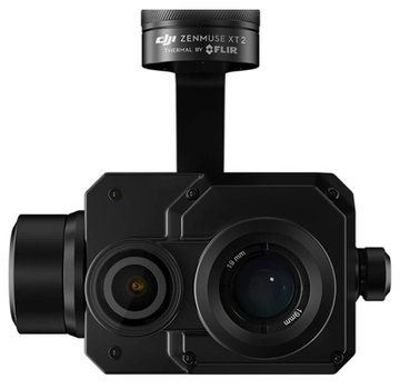 DJI ZENMUSE XT2 ZXT2B09SR 9Hz Frame rate 336x256 Resolution 9mm Lens DJI Dual Thermal Camera