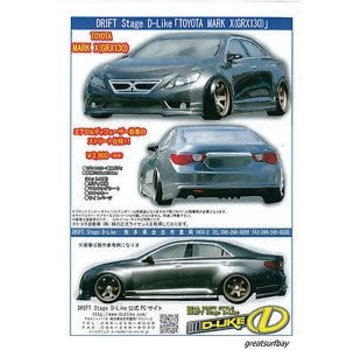 D-Like DLIKE D-like DL093 Toyota Mark X (grx130) Body (VRC-DL093)