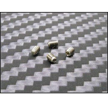 PN Racing PN Racing Mini-Z M2x2.5mm Stainless Steel Set Screw (4pcs)