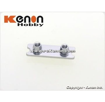 PN Racing PN Racing Mini-Z MR03 Front Spring Holder (Wide) Silver