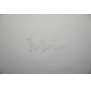 Kyosho KYOSHO  (MZW410) Flexible Rear Suspension Plate Set (RM/HM)