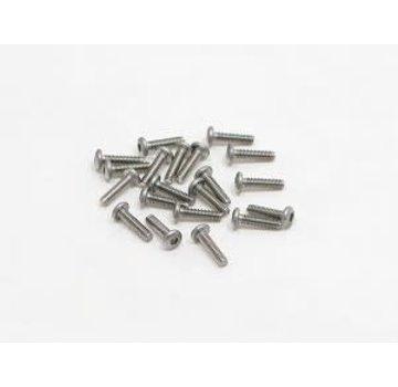 PN Racing PN Racing M2x8 Button Head Stainless Steel Hex Machine Screw (20pcs)