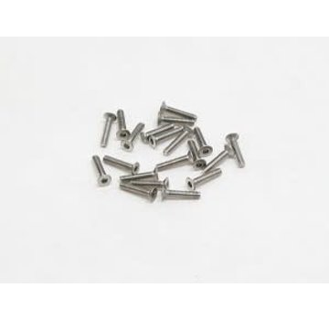 PN Racing PN Racing M2x10 Countersink Stainless Steel Hex Machine Screw (20pcs)