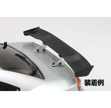 Yokomo YOKOMO Aluminum wing stay Silver/Low for Drift car (D-056L)