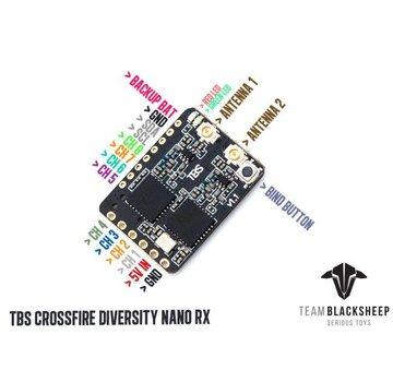 Team BlackSheep TBS Crossfire Diversity Nano RX