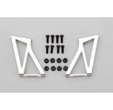 Yokomo YOKOMO (D-056) Aluminum Wing Stay(Silver)
