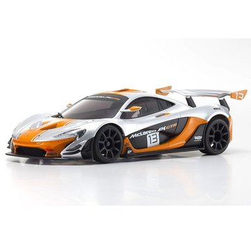 Kyosho Kyosho (MZP235SO-B) Autoscale MR-03W-MM McLaren P1 GTR Silver/Orange