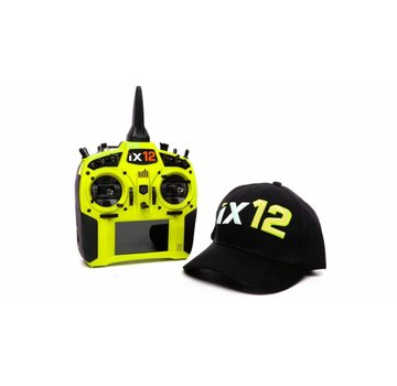 Spektrum Spektrum iX12 12 Channel Tx Only Yellow with Free Hat!