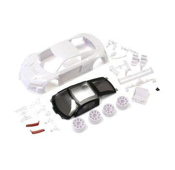 Kyosho Kyosho (MZN189) Audi R8LMS2015/16 White Body Set(w/Wheels)