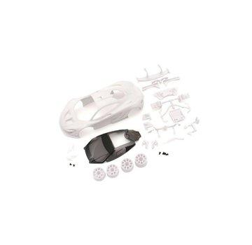 Kyosho Kyosho Mini-Z (MZN190) McLaren P1 GTR White body set with Wheels