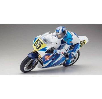 Kyosho Kyosho (34931B) Hang On 1/8 EP S.R.T. SUZUKI RGV1992 RC Motorcycle Kit