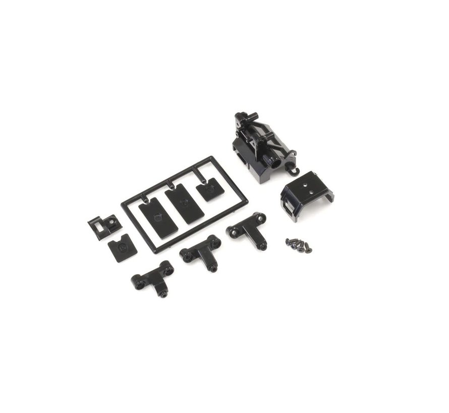 Kyosho (MZ216) Motor case set/Type RM (for MR-03)