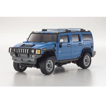 Kyosho Kyosho Mini-Z Overland (MVP10BL-B) MV-01S Hummer H2 Blue Autoscale