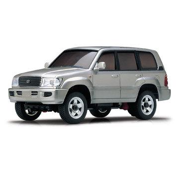 Kyosho Kyosho Mini-Z Overland (MVC2S) Toyota Land Cruiser Silver Autoscale