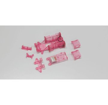 Kyosho Kyosho (MZW11CP) Skelton Chassis Set Clear Purple
