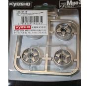 Kyosho Kyosho Mini-Z (MZ18AM) Wheel Altezza Silver Finish
