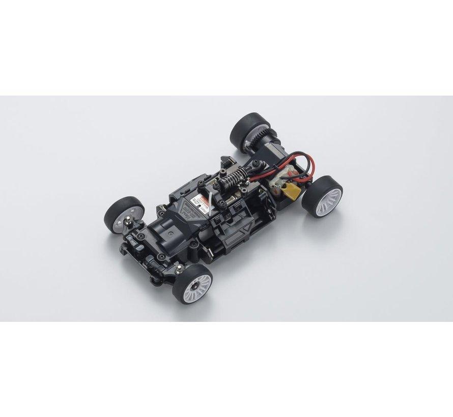 Kyosho Mini-Z (32323RGB-B) RWD Audi R8 LMS 2016 Gray/Red MR-03 Readyset
