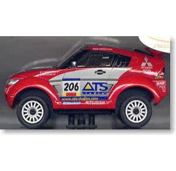 Kyosho Kyosho Mini-Z Overland (MVG6SP-B) Mitsub. Pajero Evo 2003 Paris-Dakar #206 ASC