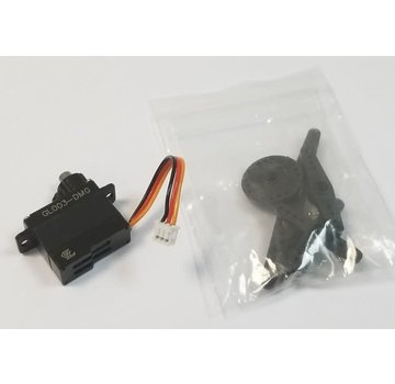 GL Racing GL Racing Semi-Alloy Case Hi Speed Servo (Metal Gear) for GLR (GL003-DMG)
