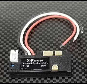 GL Racing GL Racing Sensored/Sensorless Racing 30A ESC (1pc) (X-Power-RJ28-30A)