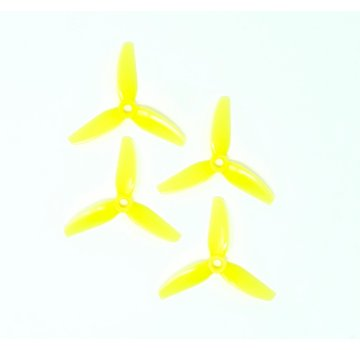 HQ Props HQ Durable Prop  3X3X3 Yellow (2CW+2CCW)-Poly Carbonate