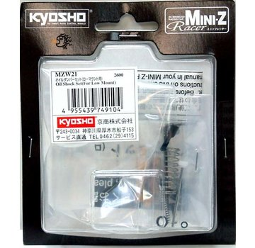 Kyosho Kyosho Mini-Z (MZW21) Oil Shock Set For Low M