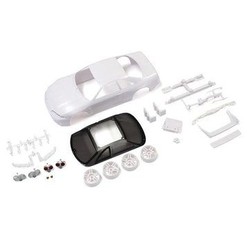 Kyosho Kyosho (MZN182) SKYLINEGT-R R33 Vspec White body set (w/Wheels)