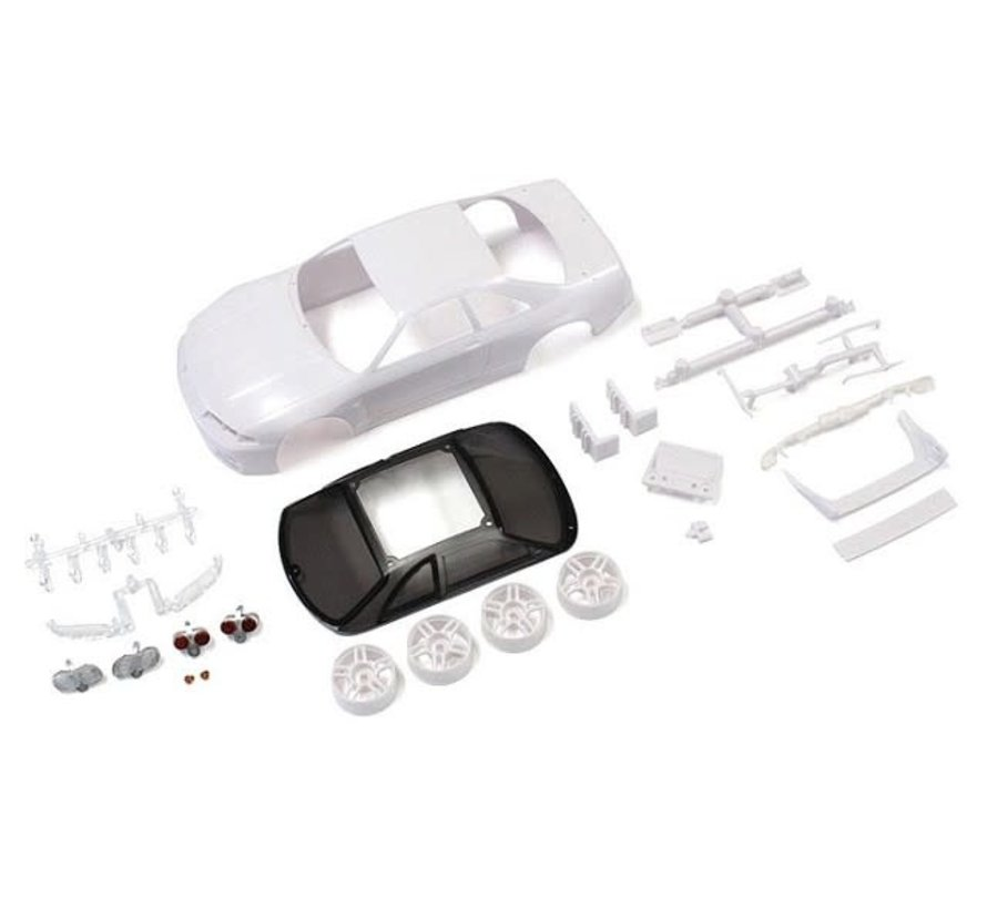Kyosho (MZN182) SKYLINEGT-R R33 Vspec White body set (w/Wheels)