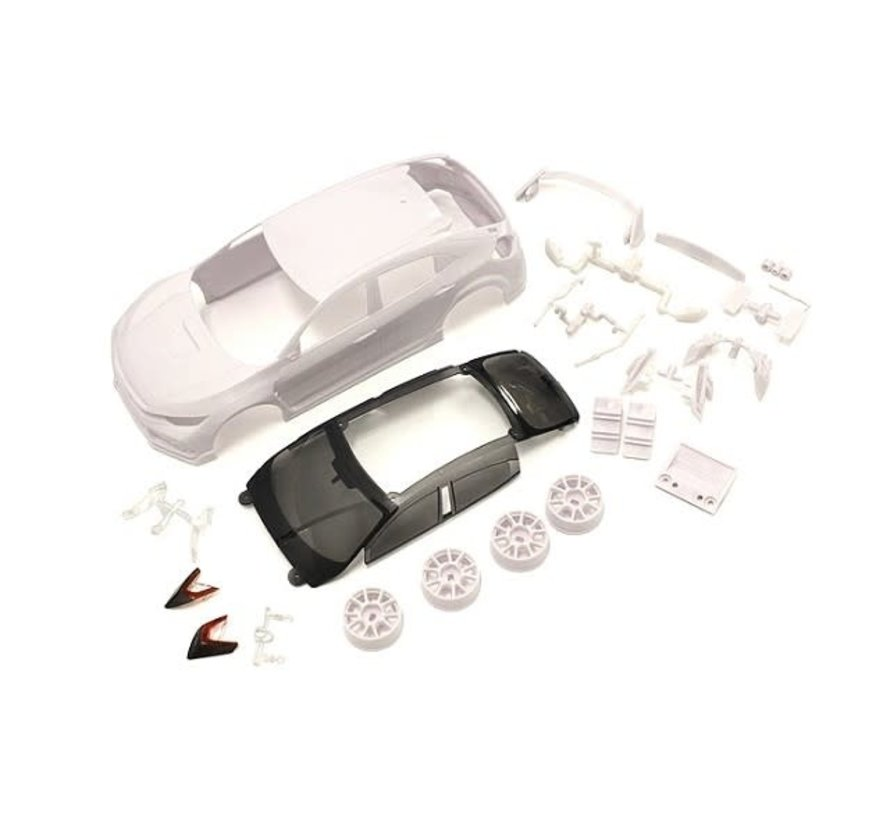 Kyosho (MZN194) Honda CIVIC White body set (w/Wheel)