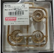 Kyosho Kyosho Mini-Z (MZ23GL) 18 Spoke Gold Wheel